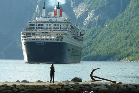Cunard QM2 - Guernsey Cruise from Southampton 4 June